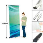 Exhibition roller banner sign