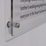 supply designed plaque acrylic signs surrey london